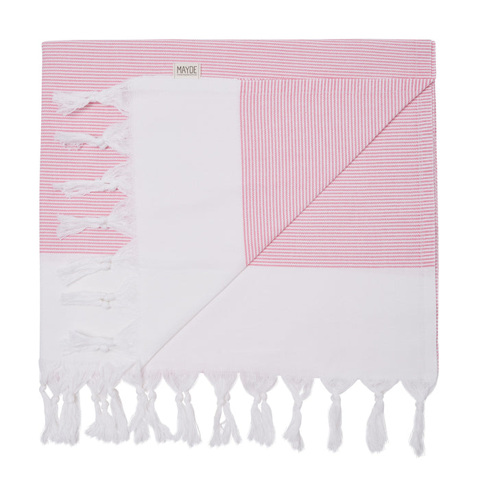 BYRON TOWEL - HOT PINK