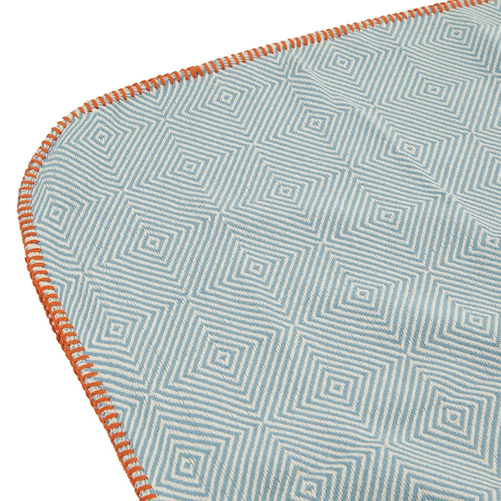 BIRCHGROVE THROW - TEAL