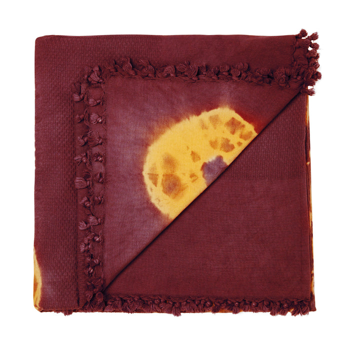 TRIBULATION THROW - BURGUNDY