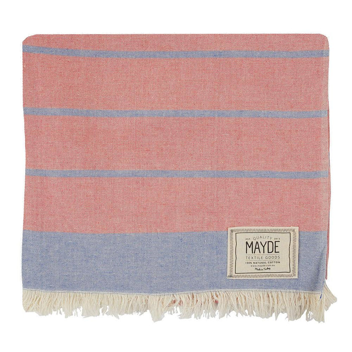 COTTESLOE TOWEL - RED / BLUE