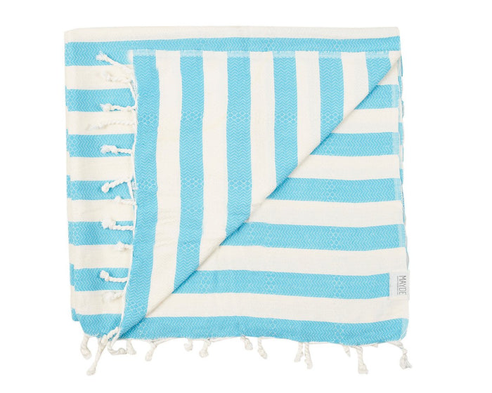 REEF TOWEL - TURQUOISE