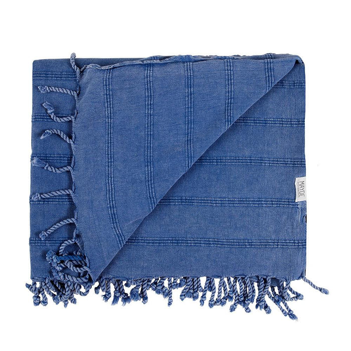 AVALON BEACH BLANKET - DENIM