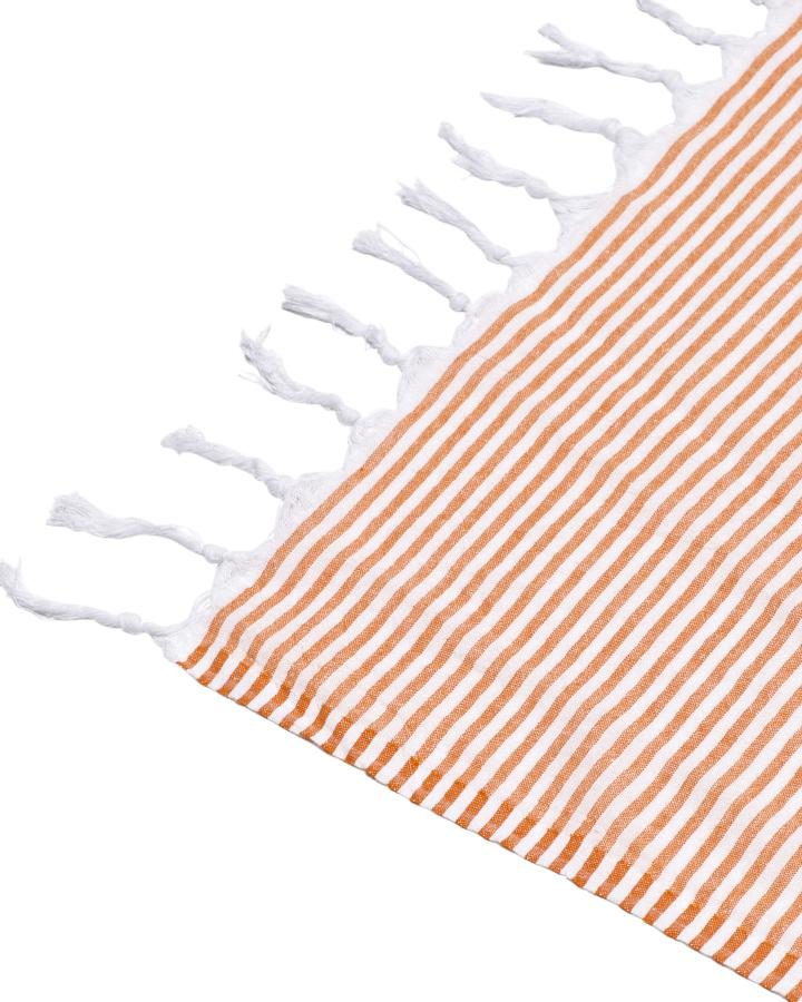 NOOSA TURKISH TOWEL - TANGERINE