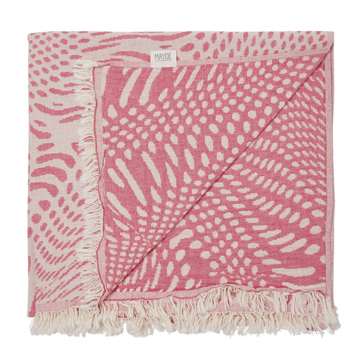 FRESHWATER TOWEL - HOT PINK