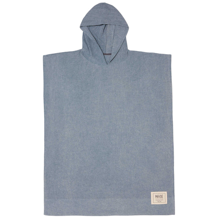 MEN'S WATEGOS PONCHO - CHARCOAL