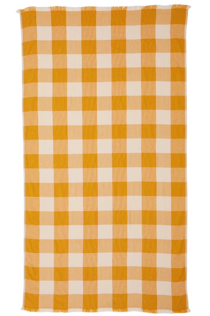 SUNSHINE TOWEL - MUSTARD