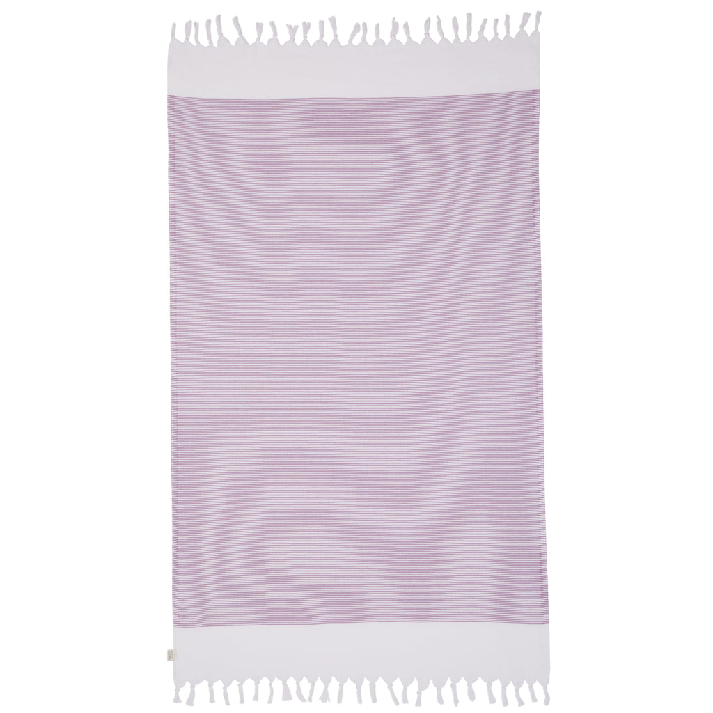 BYRON TOWEL - PLUM