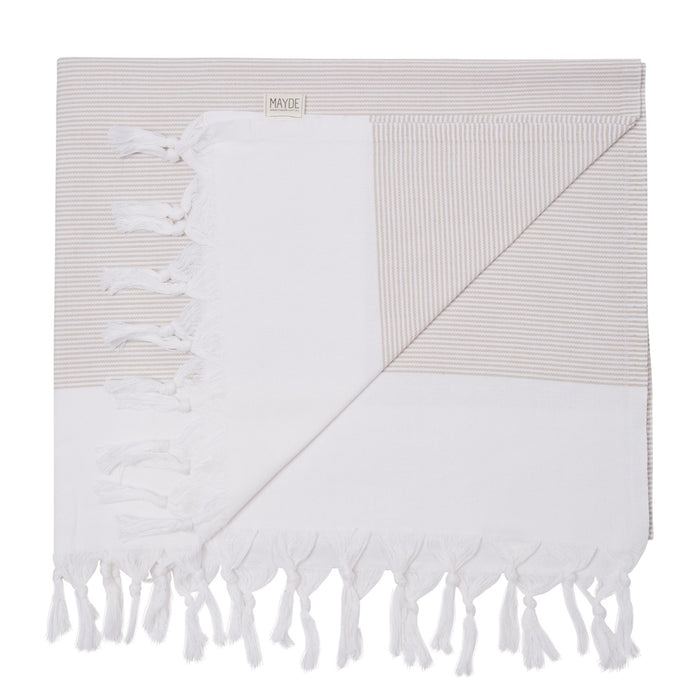 BYRON TURKISH TOWEL - SAND