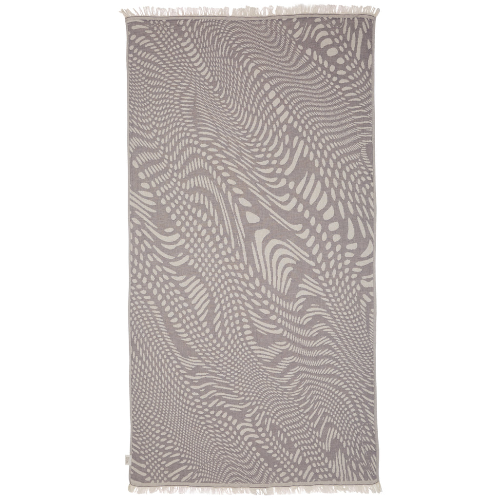 FRESHWATER TOWEL - CHARCOAL