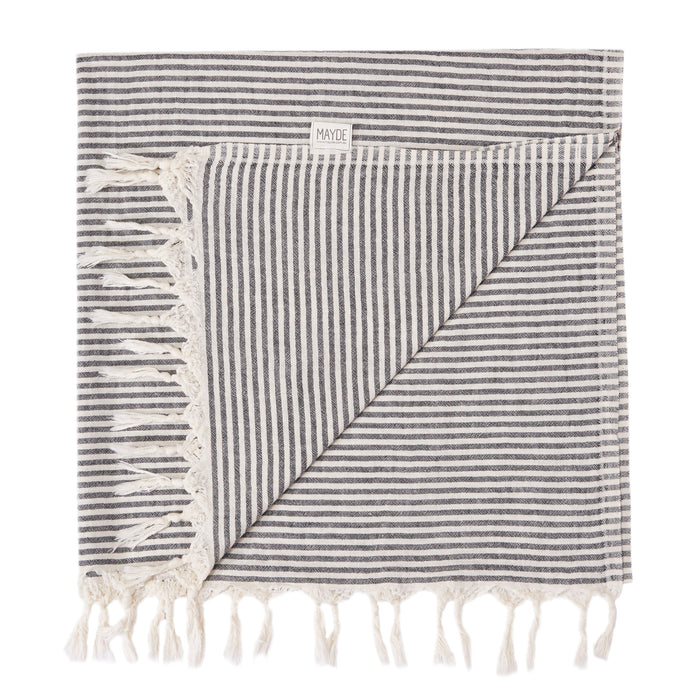 NOOSA TURKISH TOWEL - BLACK