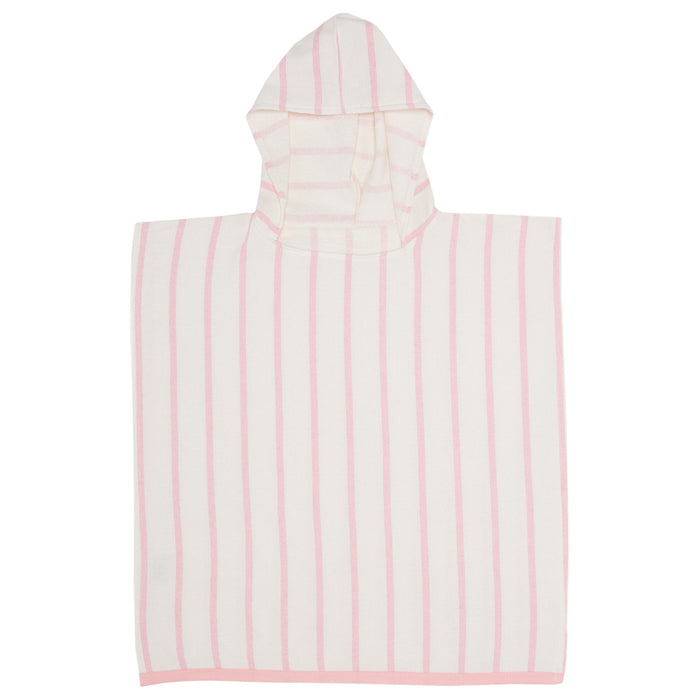 TOTS PEBBLY PONCHO - DUSTY PINK