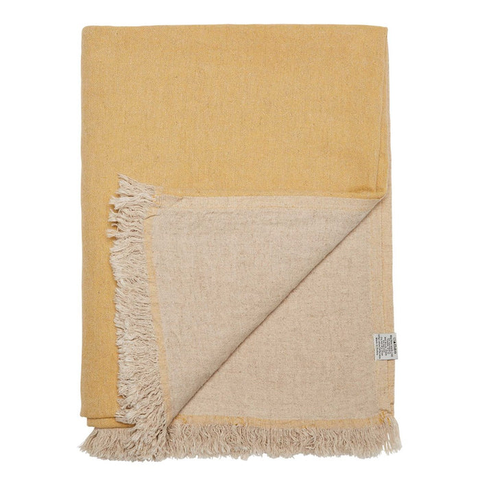 PRE SALE | VALLA THROW - MUSTARD