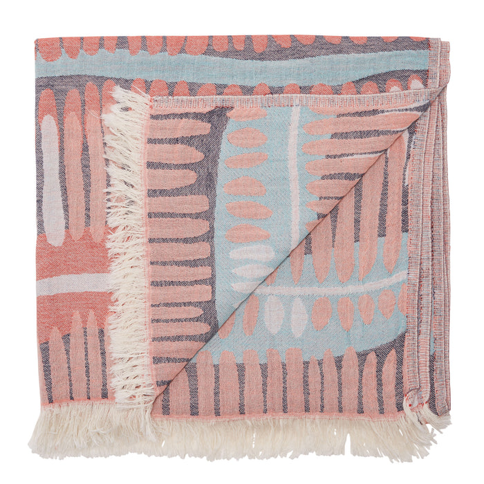 FRIDAY ISLAND TOWEL - CORAL