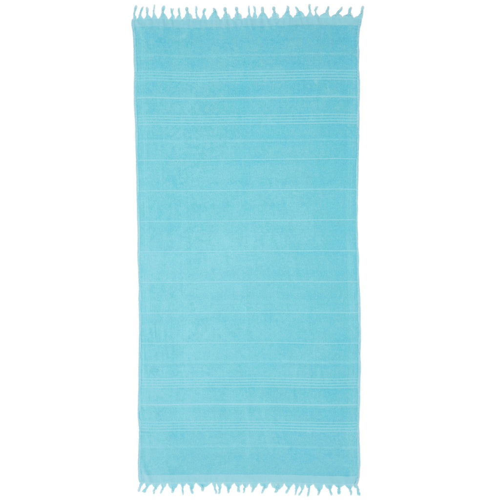 MIDDLE COVE TOWEL - TURQUOISE