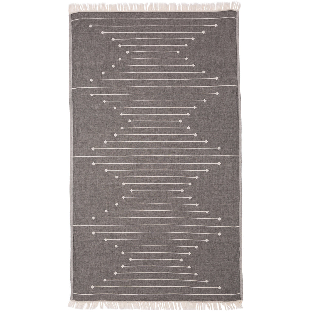 MOSMAN TOWEL - BLACK