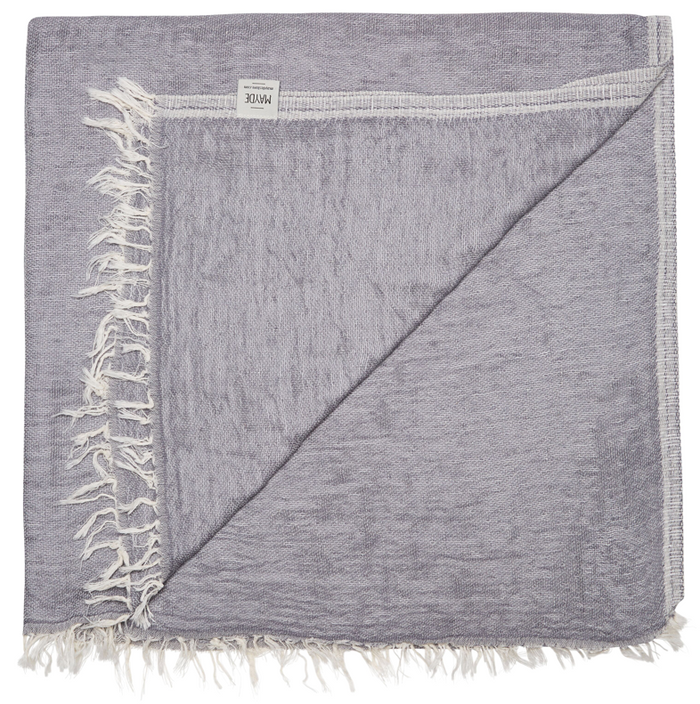 BRUNSWICK TOWEL - CHARCOAL
