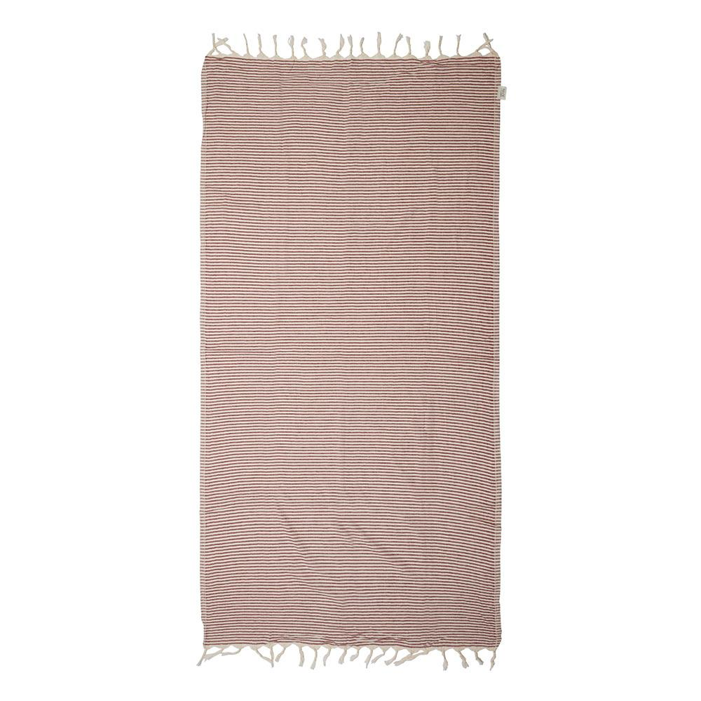 NOOSA TOWEL - BURGUNDY