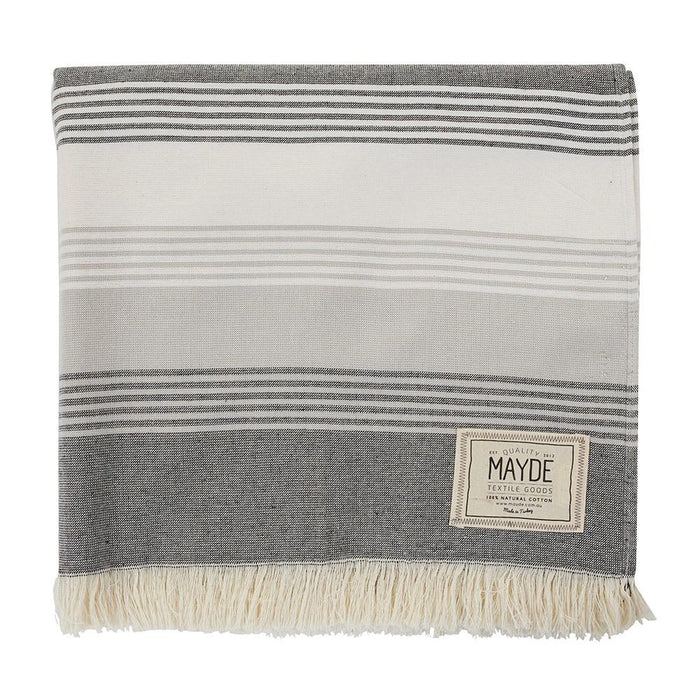 JERVIS TOWEL - BLACK & WHITE