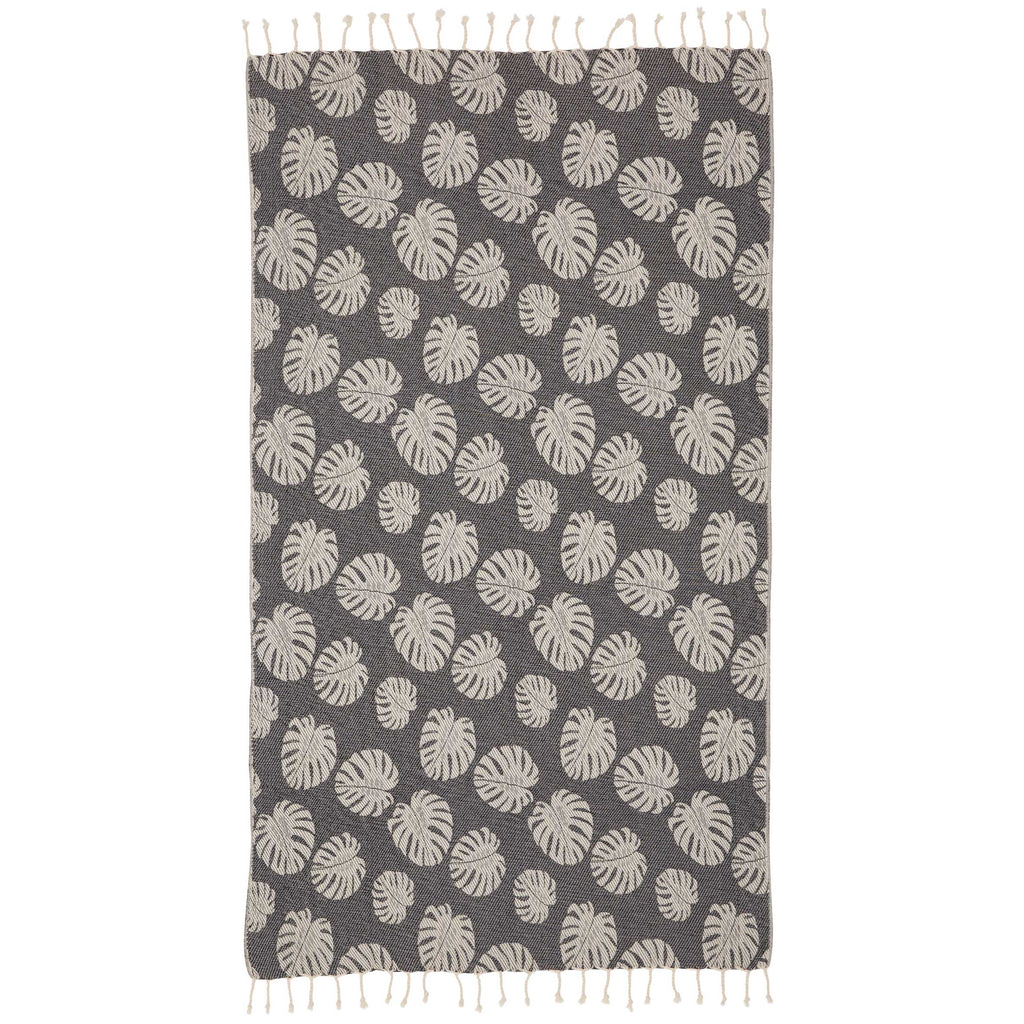 SEACLIFF TOWEL - CHARCOAL