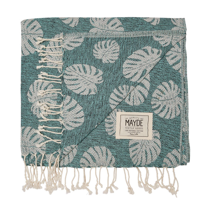 SEACLIFF TOWEL - TURQUOISE