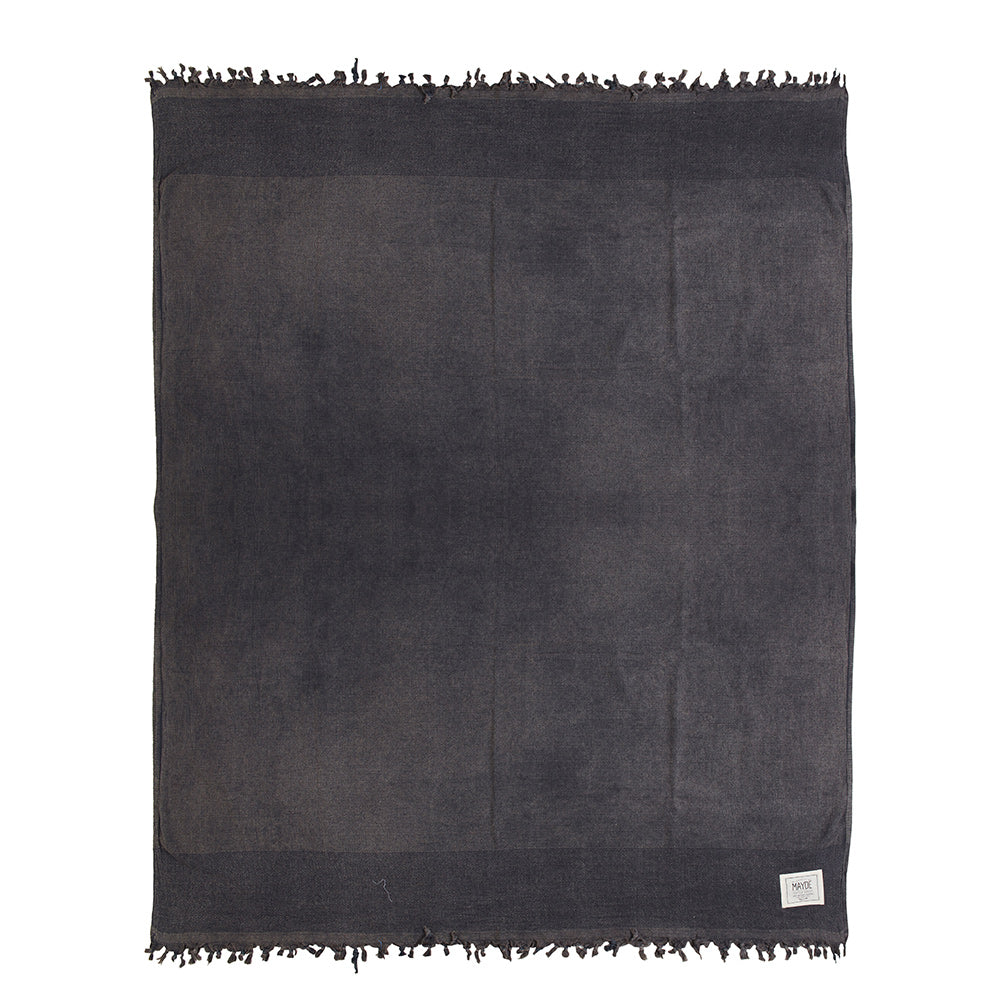 TREACHERY BLANKET - CHARCOAL