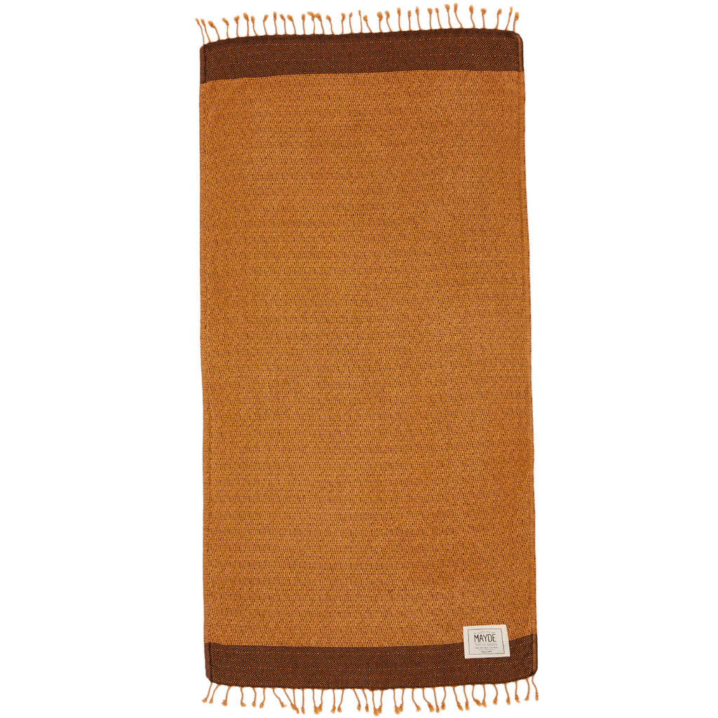 TREACHERY TOWEL - MUSTARD