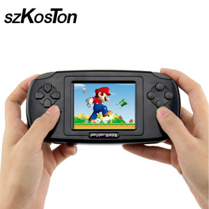 Classic Portable Handheld Game Console With 168 Games Built In