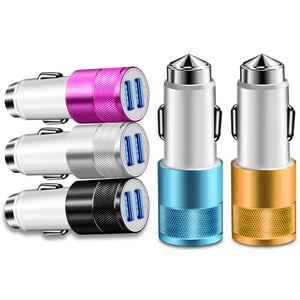 2 USB Port Car Charger (Universal)