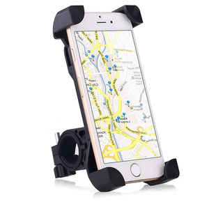 Universal Anti-Slip 360 Handlebar Mount For Cell Phones