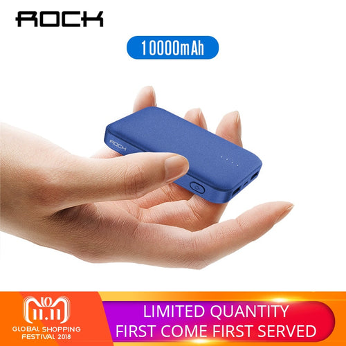 ROCK Mini Power Bank 10000mAh