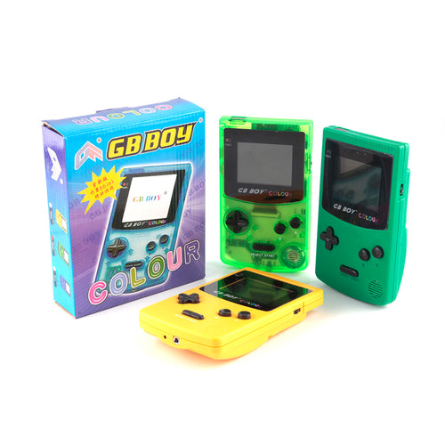 GB Boy Classic Color Colour with Backlit 66 Built-in Games