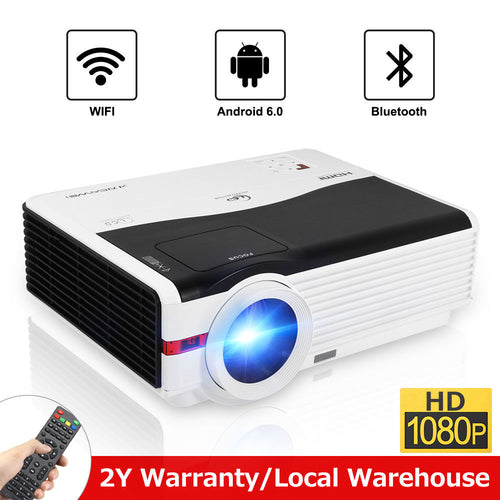 Android Bluetooth Wifi LCD Projector 1080p