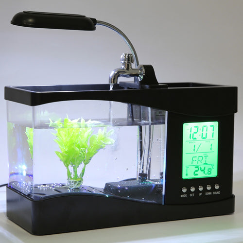 1.5L Mini Fish Tank Aquarium