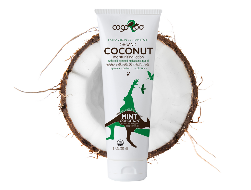 CocoRoo® Mint Condition™ USDA Organic Coconut Oil