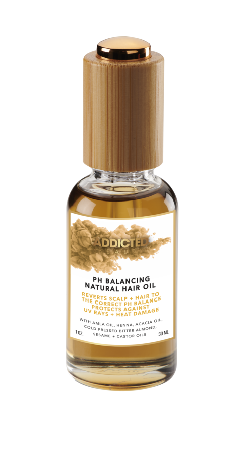 Addicted Beauty PH Balancing Natural Hair Oil