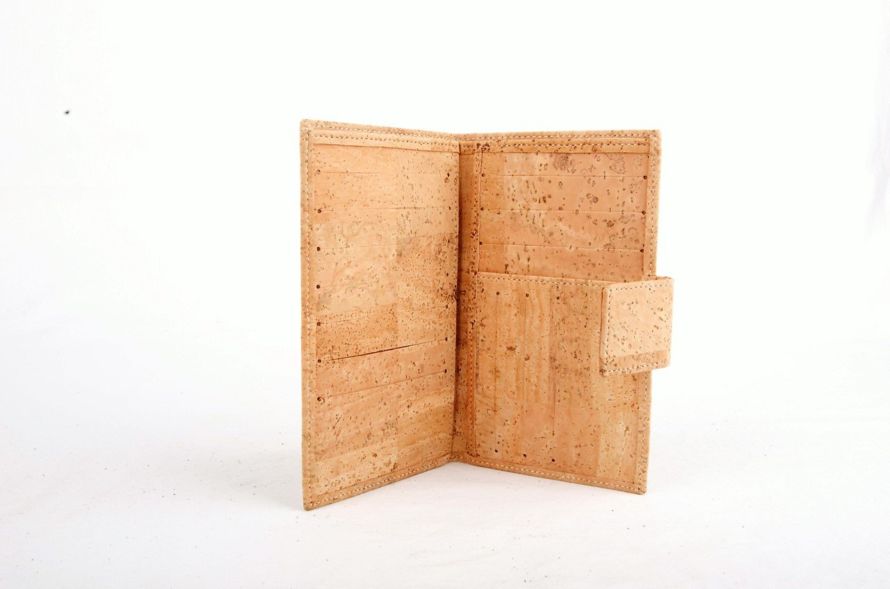 Vegan Wallet.  Vegan Cork Women's Wallet