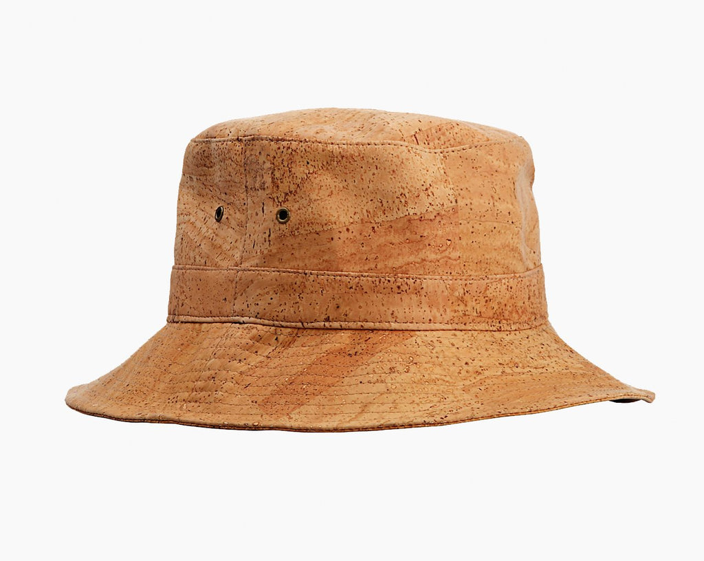 Waterproof Vegan Cork Bucket Hat. Best hat ever