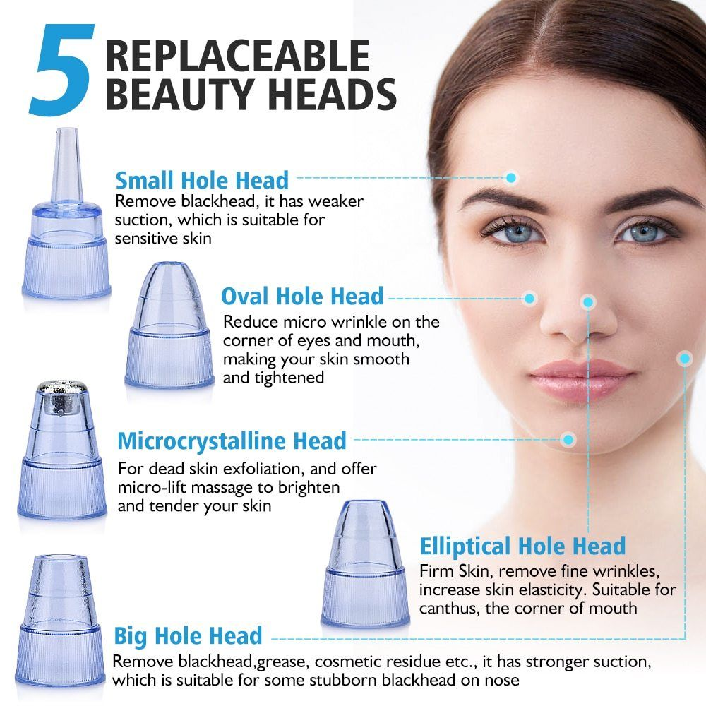 Electric Acne Remover Pores Cleaning Apparatus