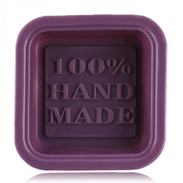 "Moule en silicone ""100% Hand-Made"""