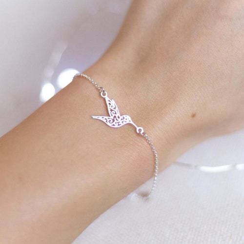 Bracelet Tropical Bird - Disponible en doré, argent ou doré rose