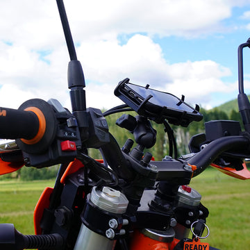 RAM Mount Pack for Bikes - TWO FREE Long Range Antenna & FREE Freight