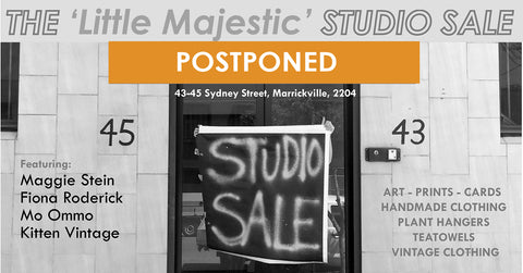 Marrickville Open Studio Event Cancelled