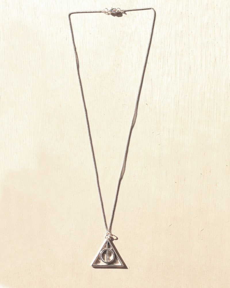 KV Handmade Necklace Deathly Hallows