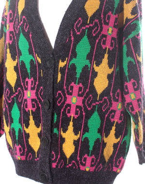 Neon Flash 80's Cardigan