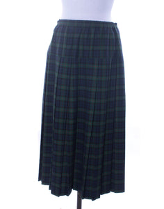 Vintage 80's Alistair Buxton Tartan Skirt