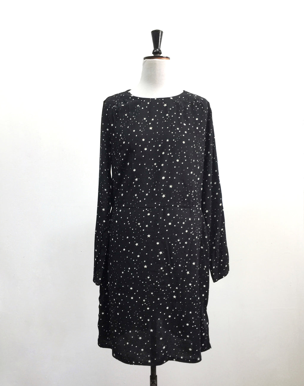 H&M Black Star Dress