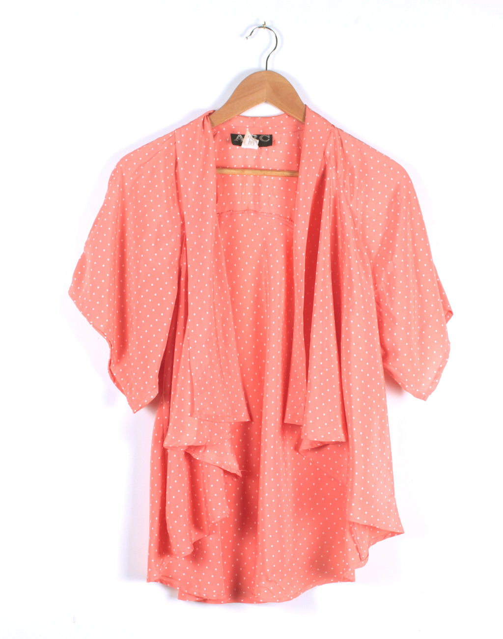 Arc Sydney Peach Spot Waterfall Shirt