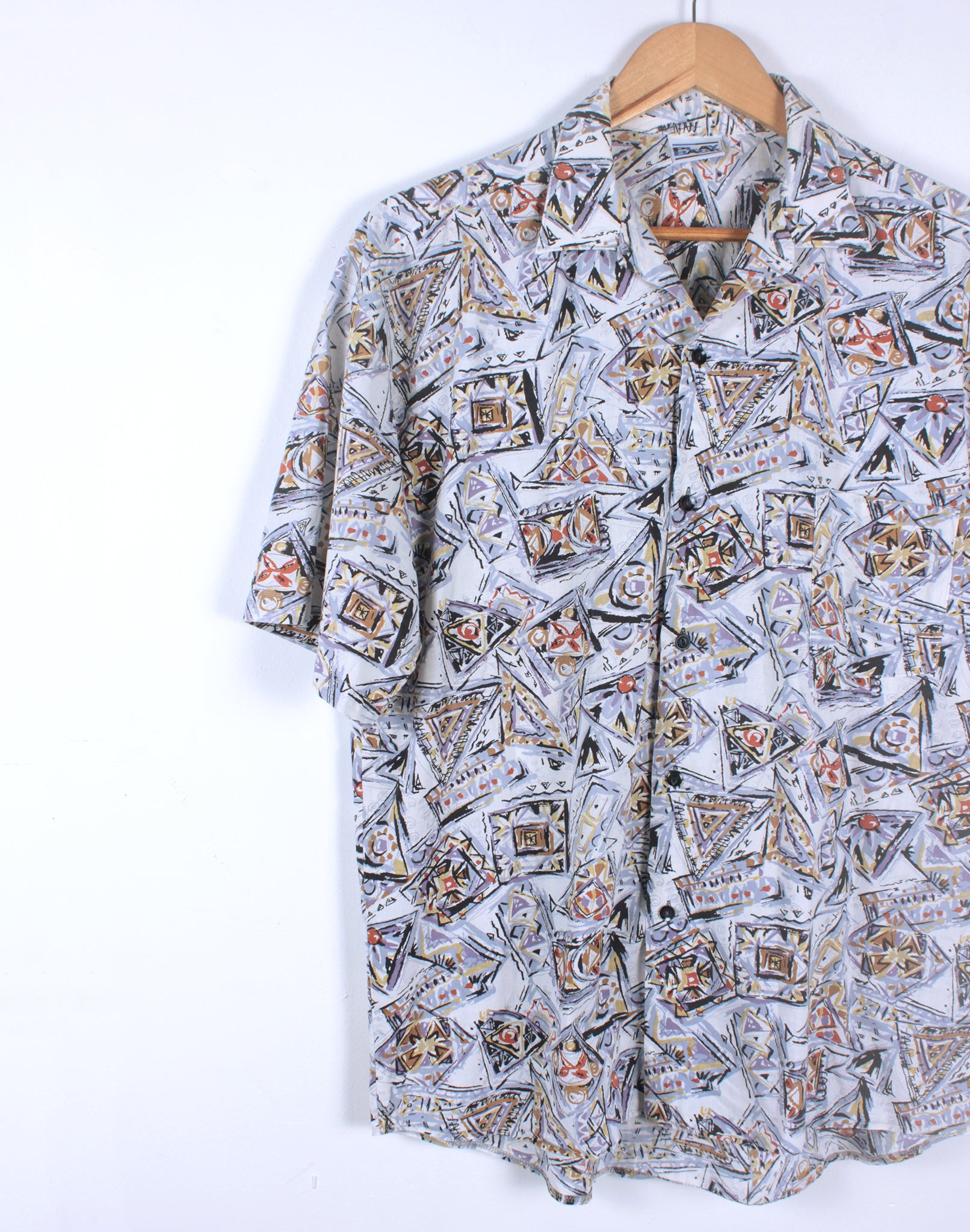 Vintage 80's Oversize Playback Graphic Shirt