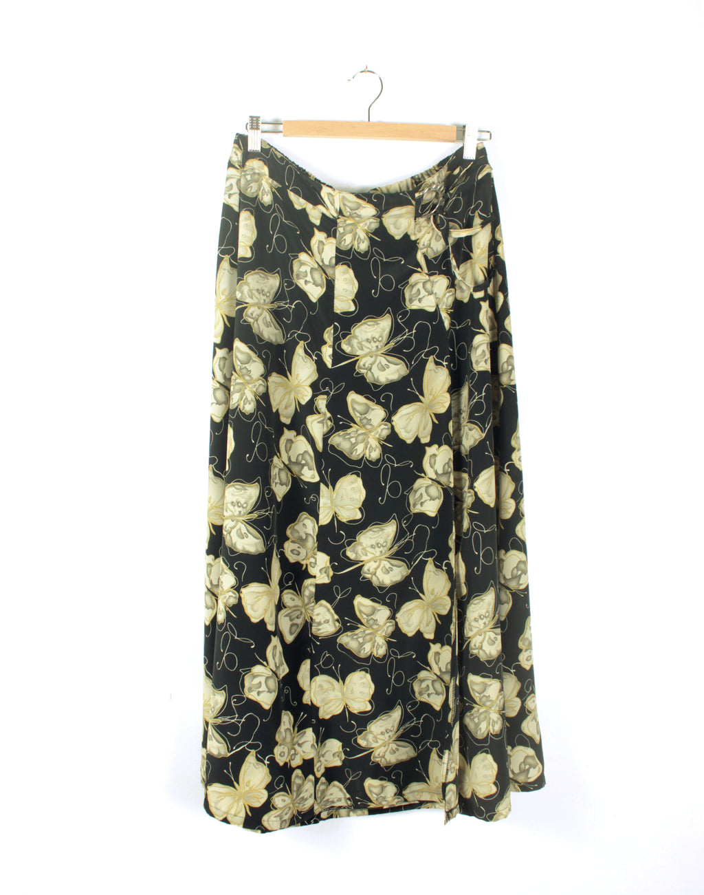 Vintage 90's Long Skirt Butterfly Floral