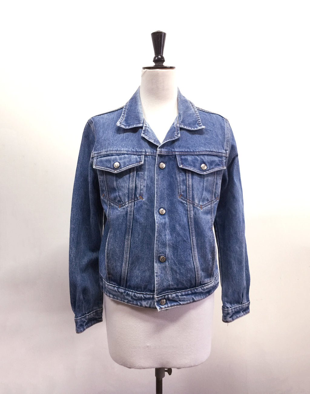 Vintage 80's Mid Blue Denim Jacket